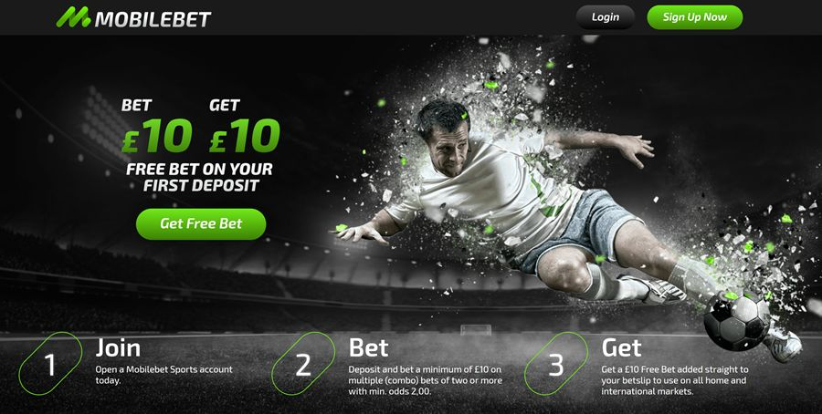 mobilebet football 10 free bet offer